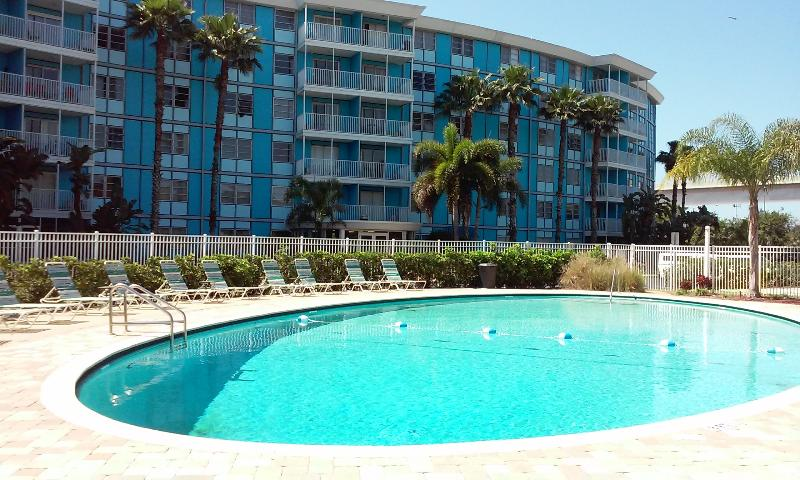 The Wave Condos, south St. Pete at base of Skyway Bridge - Elegant 1/1 Private Condo--4 miles to beaches! - Saint Petersburg - rentals