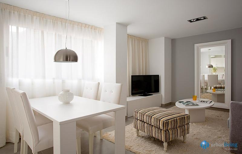 Living Room - Andes4 - serviced apartments close to the beach - Malaga - rentals