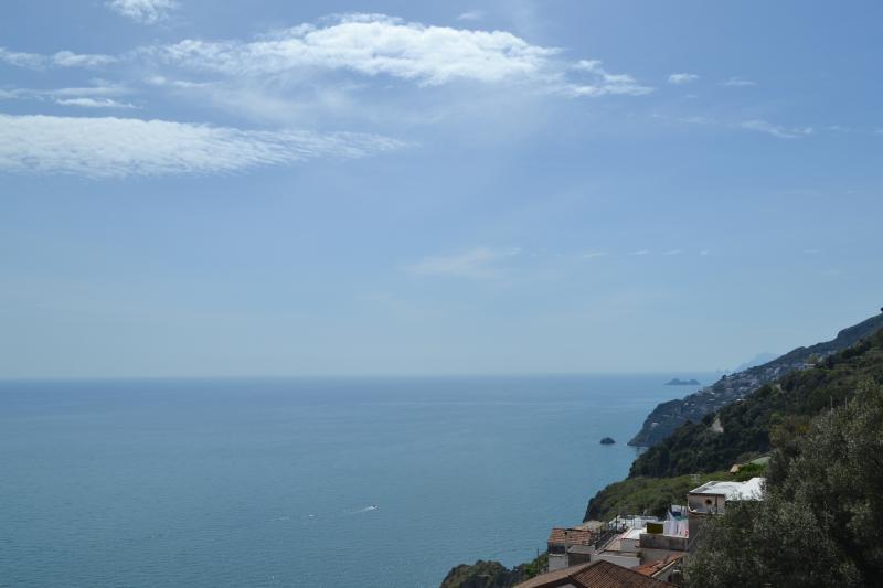View from terrace - Belvedere Amodeo - Amalfi Coast - Conca dei Marini - rentals