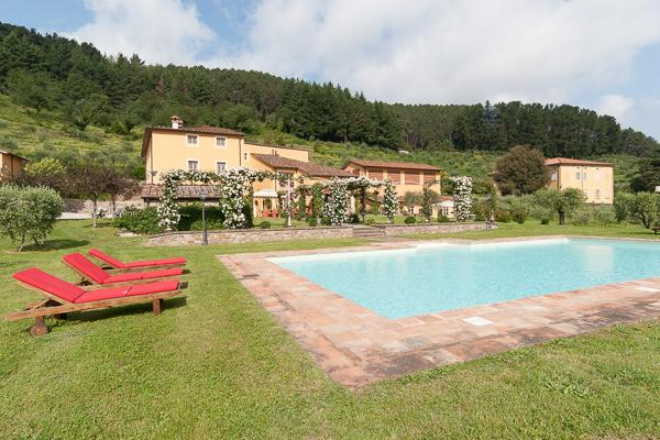 Typical Tuscan country home surrounded by orchards and olive groves. CSL FAT - Image 1 - Lucca - rentals