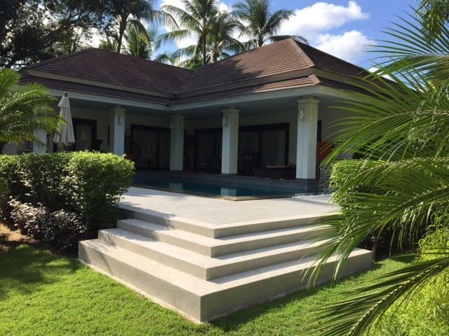 Baan Timbalee with fabulous sun deck around the pool - Baan Timbalee, beautiful family villa & Pool - Koh Samui - rentals