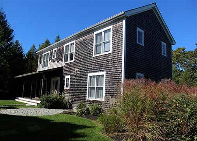 BRIGHT AND SPACIOUS HOUSE WITH A STONE PATIO AND WRAP AROUND PORCH - Image 1 - Vineyard Haven - rentals