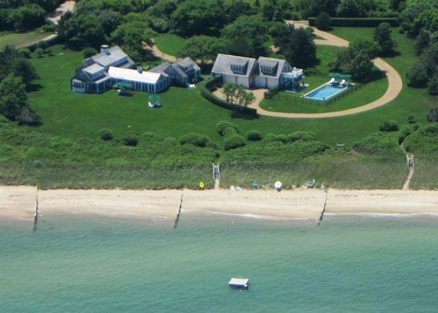 AN EXQUISITE WATERFRONT, LUXURY - RESTORED 18th CENTURY VINEYARD HOME W/POOL - Image 1 - Edgartown - rentals