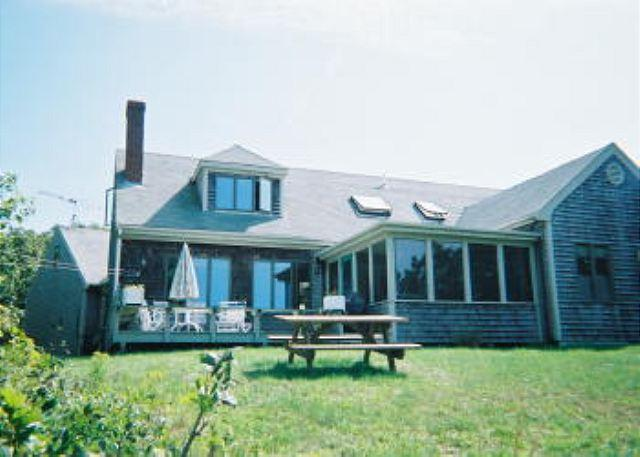 CHARMING HOME WITH WATERVIEWS AND A LOVELY SCREEN PORCH - Image 1 - Chilmark - rentals
