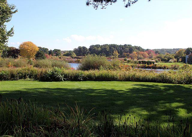 WONDERFUL VIEWS OF SENGEKONTACKET POND FROM THIS LOVELY VINEYARD HOME - Image 1 - Oak Bluffs - rentals