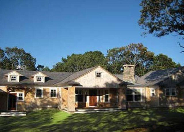 WATERFRONT VINEYARD CONTEMPORARY HOME LOCATED ON TISBURY GREAT POND - Image 1 - Chilmark - rentals