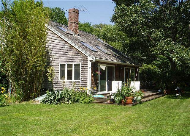CHARMING PRIVATE COTTAGE WITH A YARD THAT IS A SLICE OF HEAVEN ON EARTH - Image 1 - West Tisbury - rentals