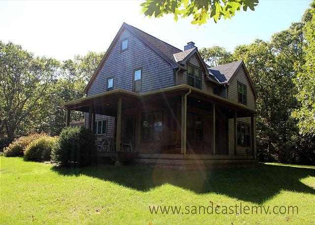 WALK TO PRIVATE ASSOCIATION BEACH FROM THIS BEAUTIFUL PRIVATE HOME - Image 1 - Vineyard Haven - rentals