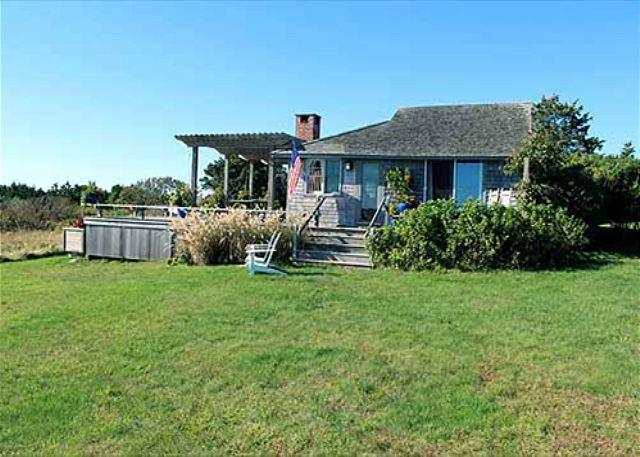 CHARMING WATERFRONT COTTAGE WITH WONDERFUL VIEWS OF THE ATLANTIC OCEAN - Image 1 - Chilmark - rentals
