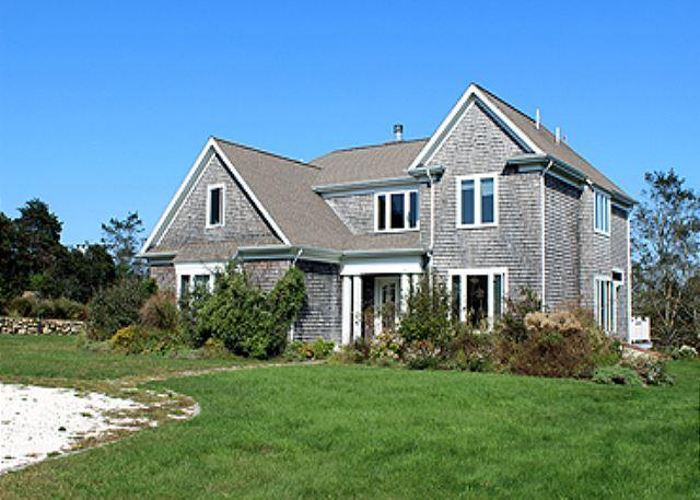 ENJOY SUNSETS & WATERVIEWS FROM THIS BEAUTIFUL 7 BEDROOM HOME - Image 1 - Aquinnah - rentals