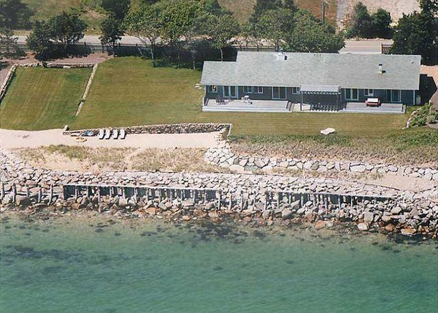 WATERFRONT HOME WITH PRIVATE BEACH - Image 1 - Oak Bluffs - rentals