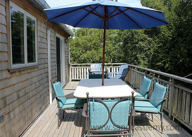 Spacious, sunny house on private and quiet half acre lot - Image 1 - Edgartown - rentals