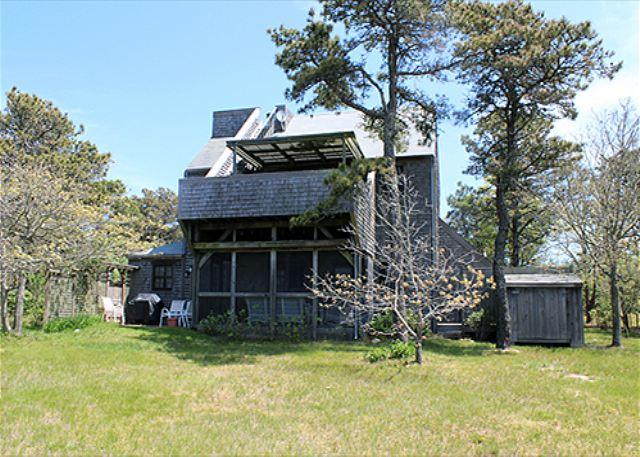 WALK TO KATAMA BAY AND ENJOY WONDERFUL VIEWS FROM ROOFTOP DECK - Image 1 - Chappaquiddick - rentals