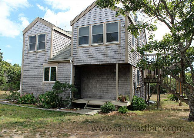 CONTEMPORARY COTTAGE WITH BEAUTIFUL WATERVIEWS OF KATAMA BAY - Image 1 - Chappaquiddick - rentals