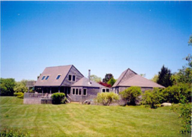 TRANQUIL HOME OVERLOOKNG THE OCEAN. ADD A BEACH AND WHAT COULD BE BETTER - Image 1 - Chilmark - rentals