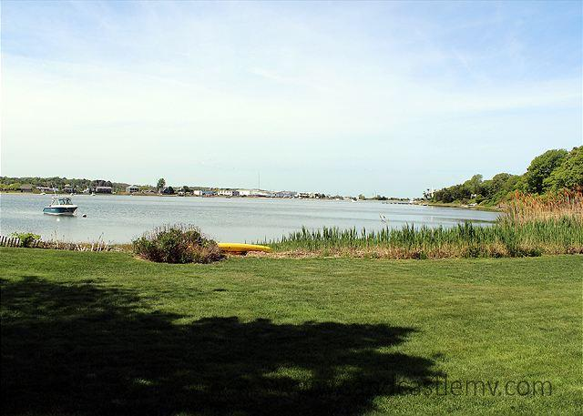 WATERFRONT COTTAGE WITH LARGE YARD GREAT FOR SUMMER GAMES - Image 1 - Vineyard Haven - rentals