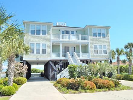 Getaway South Luxury 7 Bedroom Oceanfront Vacation House - Image 1 - Myrtle Beach - rentals