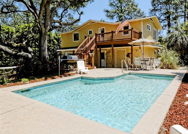 Sand 29 - Beautiful and Exciting 2nd Row 5BR/3BA Home has been Totally Renovated - Hilton Head - rentals