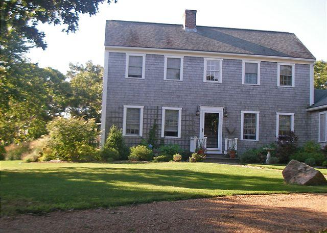 Chappy saltbox with large yard, porch, patio and deck. - Image 1 - Chappaquiddick - rentals