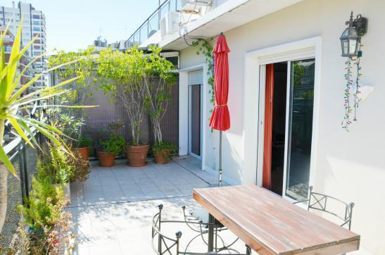 open blue sky view, sunny all day long. - BEST RECOLETA 2 bedroom 4-5 PAX terrace + BBQ - Buenos Aires - rentals