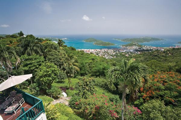 This grand Caribbean mansion has a fabled past: the former haunt of the celebrated and glamorous. MA KYA - Image 1 - Saint Thomas - rentals