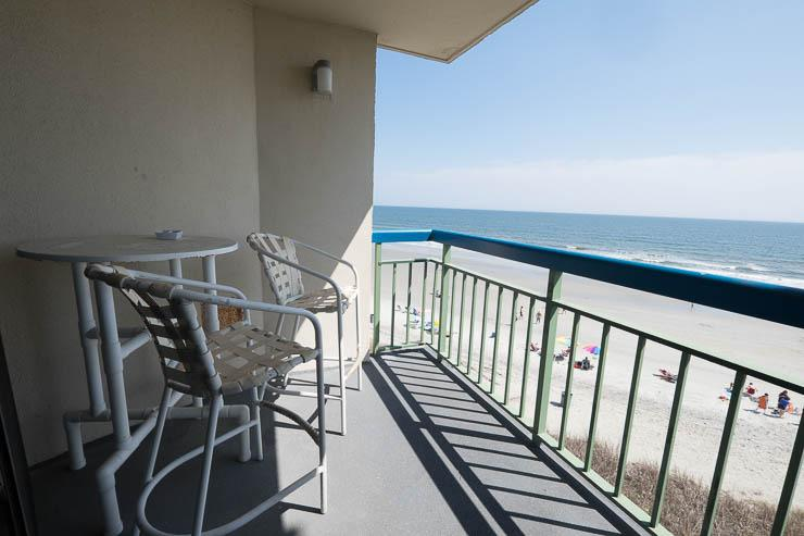 Private oceanfront balcony - FANTASTIC OCEAN VIEW, 4TH FLOOR POOL, PEACEFUL - North Myrtle Beach - rentals