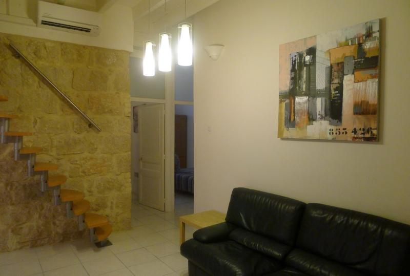 Living room, Le salon - Nice 3 Bedroom Apartment, 8 Minutes from the Beach - Nice - rentals