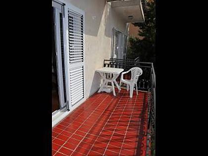 A1(4): terrace - 7211 A1(4) - Biograd - Biograd - rentals