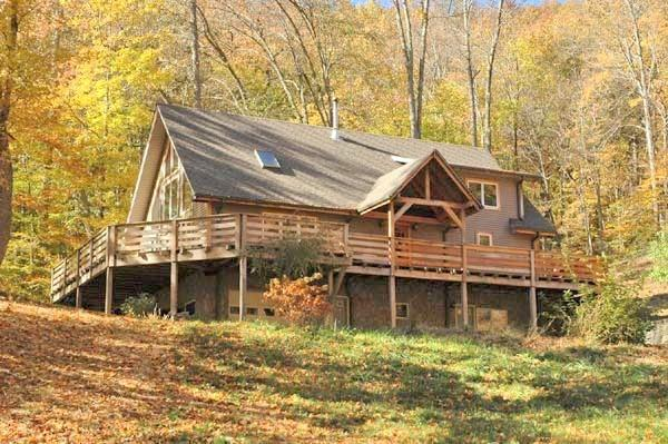 Secluded Asheville area mountain vacation rental - Image 1 - Asheville - rentals