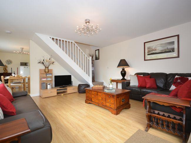 Lounge leading through to kitchen - WOOBI - Devon - rentals