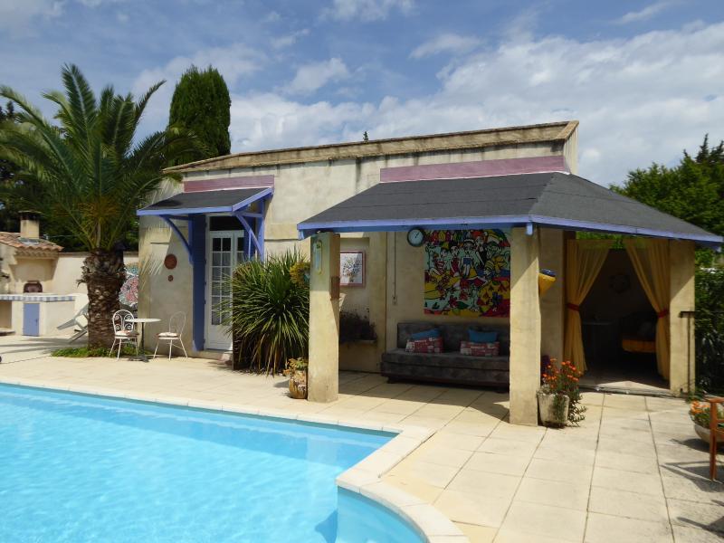 "Pool Studio overview - ""Pool Studio"" sleeps2, poolside, heart of Provence - Rognonas - rentals"