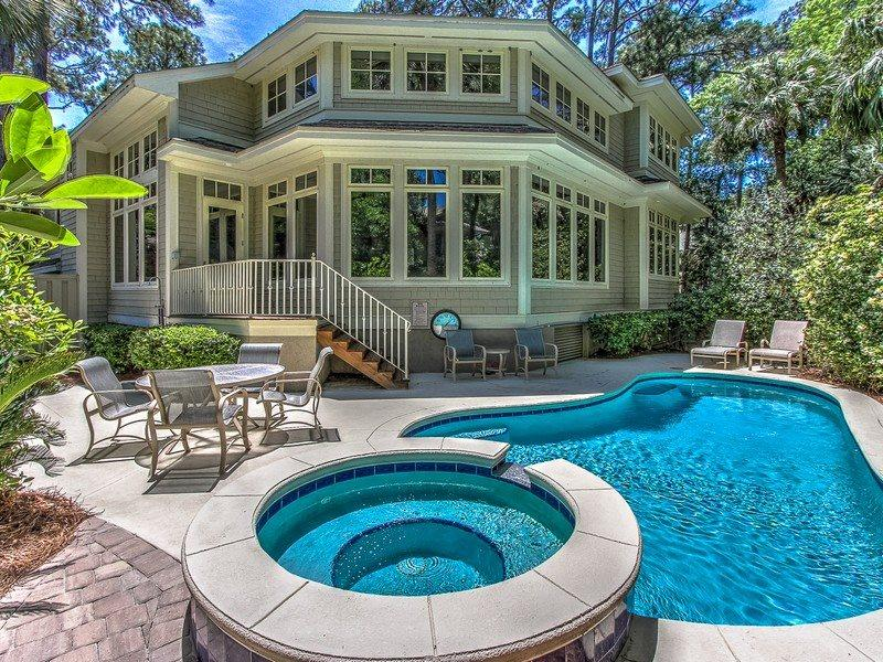 21 Ruddy Turnstone - Beautiful 5 bedroom Vacation Home in Sea Pines - 21 Ruddy Turnstone - Sea Pines - rentals