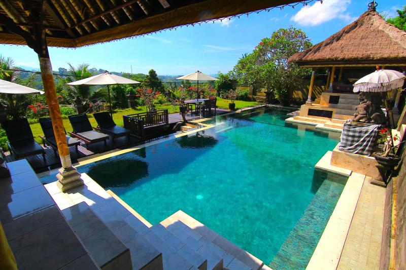 Huge Private Pool Villa - Majestic Villa - Private Pool, AC, Stunning View - Ubud - rentals