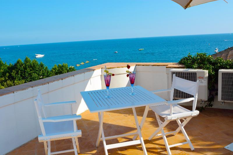 Roof terrace at Diva Maiori - Diva beautiful luxury property in Maiori - Maiori - rentals