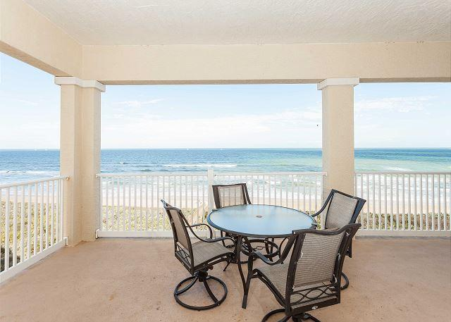 The spectacular balcony view - 561 Cinnamon Beach, 6th Floor Penthouse, Huge Corner Unit, Wifi - Palm Coast - rentals