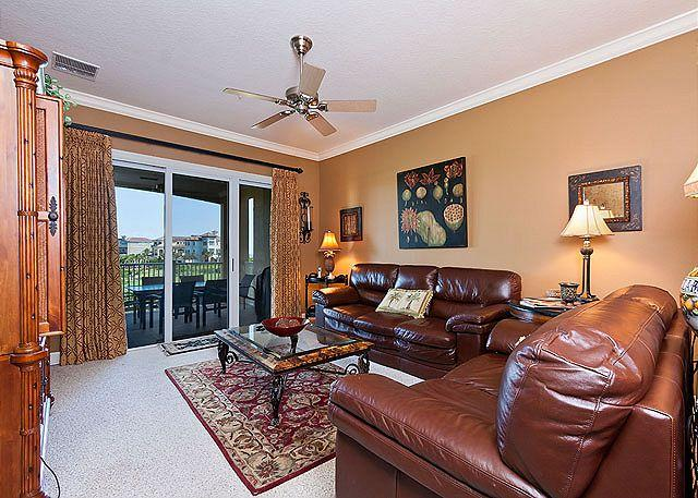 Cinnamon Beach 234 comfortably sleeps six people. - 234 Cinnamon Beach Condomiums, HDTV, Top Rated, Elevator, Wifi, 2 pools - Palm Coast - rentals