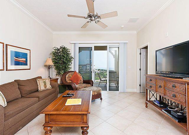"Vacation condo living is absolutely the best! - 343 Cinnamon Beach Family Resorts, 50"" HDTV, 2 heated pools, Wifi, spa - Palm Coast - rentals"