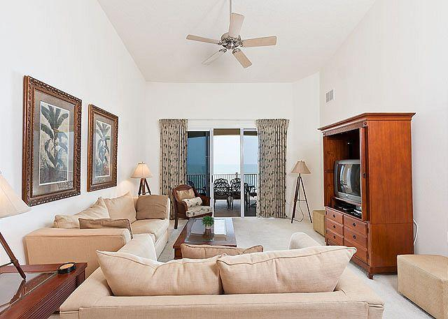 Our elegantly furnished penthouse has fine designer touches - 662 Cinnamon Beach, 6th Floor, Penthouse, HDTV, Sweeping Ocean Views - Palm Coast - rentals