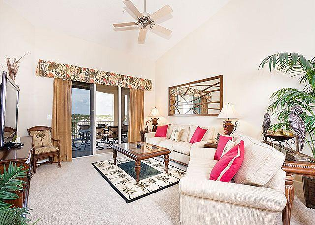 Sit back and enjoy the high life at Cinnamon Beach - 964 Cinnamon Beach, Penthouse 6th Floor, Elevator, New Furniture, HDTV, Wifi - Palm Coast - rentals