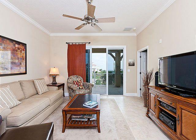 Cinnamon Beach 333 comfortably sleeps 8 people - 333 Cinnamon Beach Resort Rentals, 3rd Floor, Wifi, 2 heated pools, spa - Palm Coast - rentals