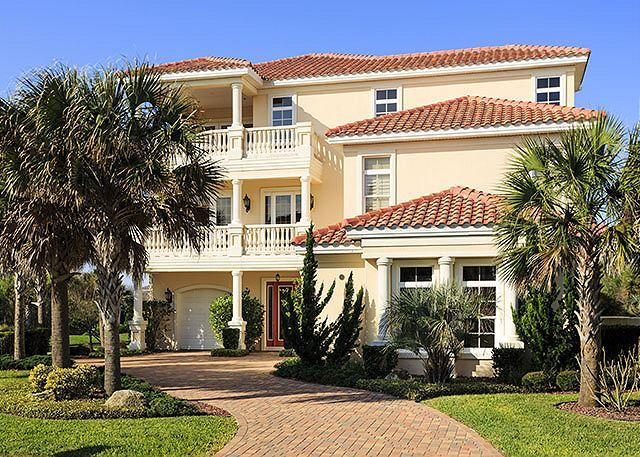 Welcome to Florence By The Sea! - Florence By the Sea, OceanView, Private Pool, Spa, 6 BRs, Elevator,HDTV, Wifi - Palm Coast - rentals