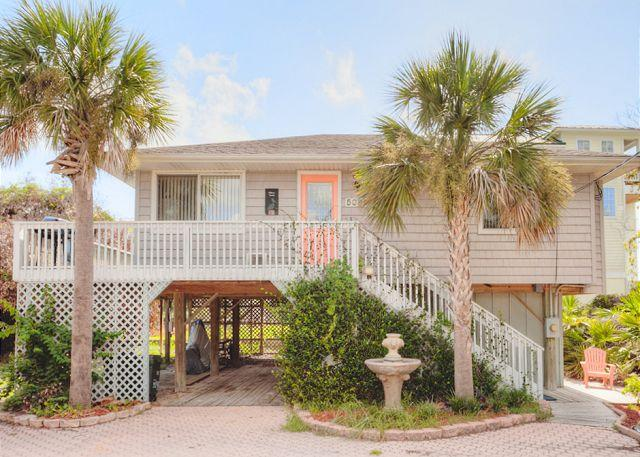 Welcome to Anastasia Island Cottage! - Anastasia Island Cottage, 2 houses to the beach, Ocean Views, Hot Tub, HDTV - Saint Augustine - rentals