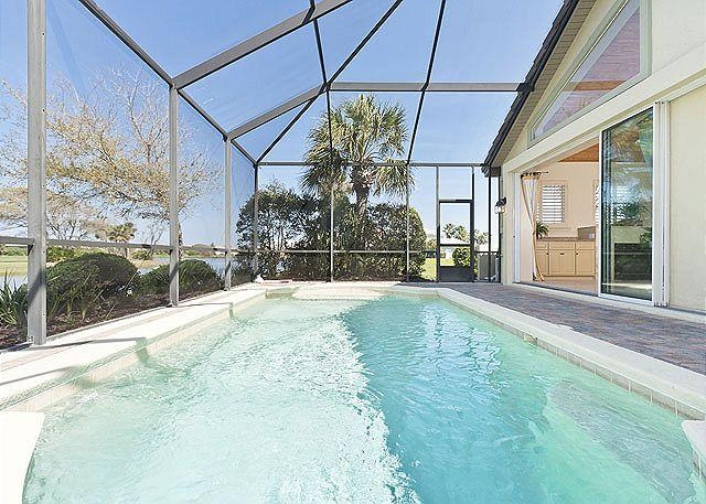 Kingfisher - Swim in our private heated pool - KingFisher Home, Private Heated Pool Screen Lanai, Marble Floors, new HDTVs - Palm Coast - rentals