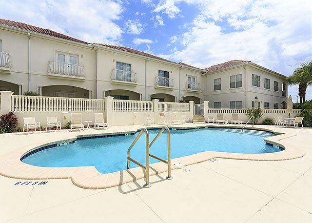 Watch the clouds drift by while floating in our pool! - Villas Ocean Gate 341, 4 Bedrooms, Great Pool, HDTVs - Saint Augustine - rentals