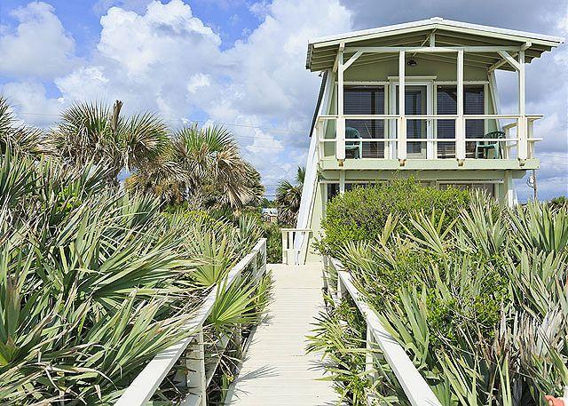 You'll love our ocean-front Flagler Oasis Beach House! - Flagler Oasis Beach House - Sleeps 8, Beach Front, HDTV, Wifi - Flagler Beach - rentals