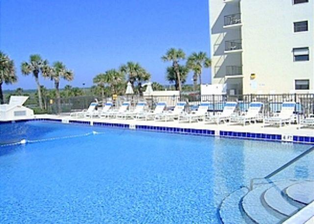 Take a dip in our ocean front pool - Sand Dollar I 108 BeachFront 3 Bedroom with Pool, St Augustine - Saint Augustine - rentals