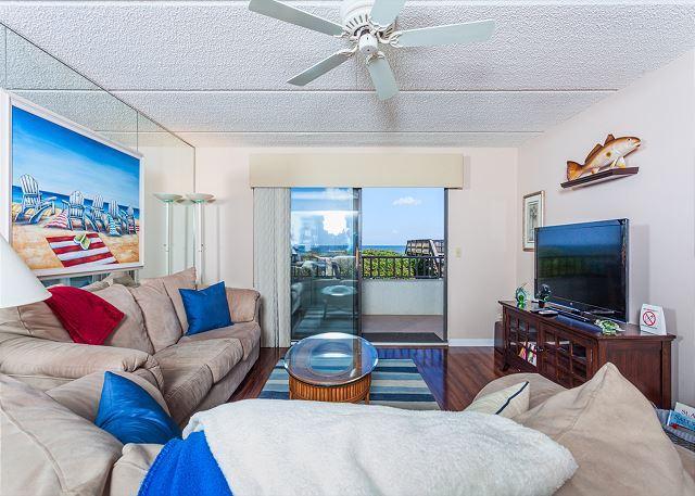Windjammer 110 comfortably sleeps six - Windjammer 110 Luxury Beach Front, Newly Updated, Elevator, HDTV - Saint Augustine - rentals