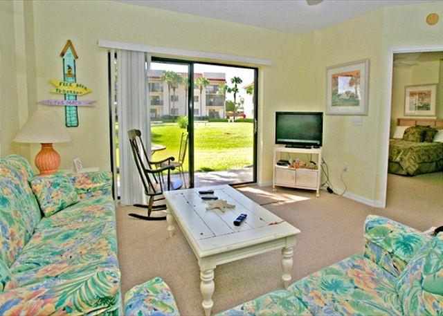 Relax in our casual atmosphere - Ocean Village Club Q14, Ground Floor Unit, 2 pools, beach, tennis - Saint Augustine - rentals