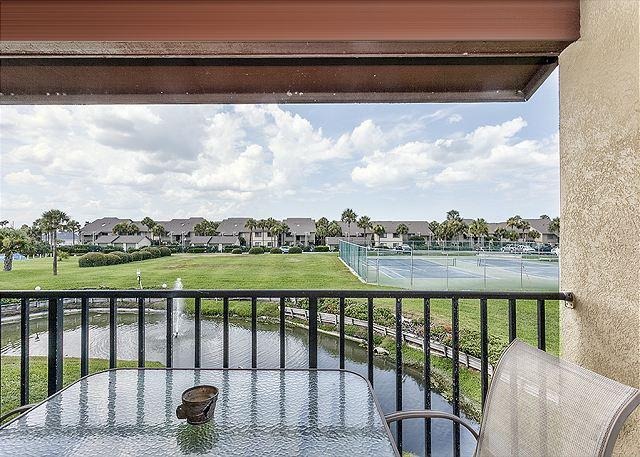 "A panoramic view from your balcony at Colony Reef 18C! - Colony Reef 18C, Tennis Villas, Heated Pool, 50"" HDTV - Saint Augustine - rentals"
