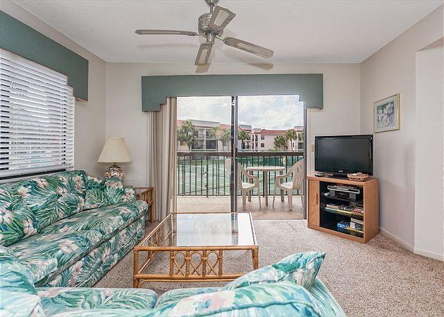 For family friendly vacation fun, enjoy condo living at Ocean Vi - Ocean Village Club G26, 2nd Floor, with 2 pools, tennis & beach, NEW HDTV - Saint Augustine - rentals